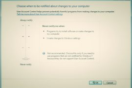 Group Policy Settings For UAC